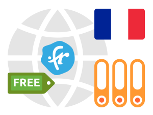 Free .FR domains with hosting available