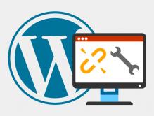 Fix broken links in WordPress
