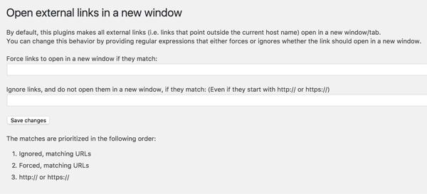 open external links in a new window settings