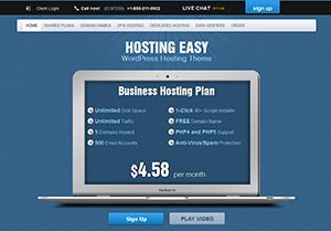 hostingeasy wordpress hosting theme thumb